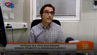 Photo of Петличковски: Шансите вакциниран човек да се разболи се мали, а да почине се минимални. Зошто народот не ги прифаќа – не ми е јасно
