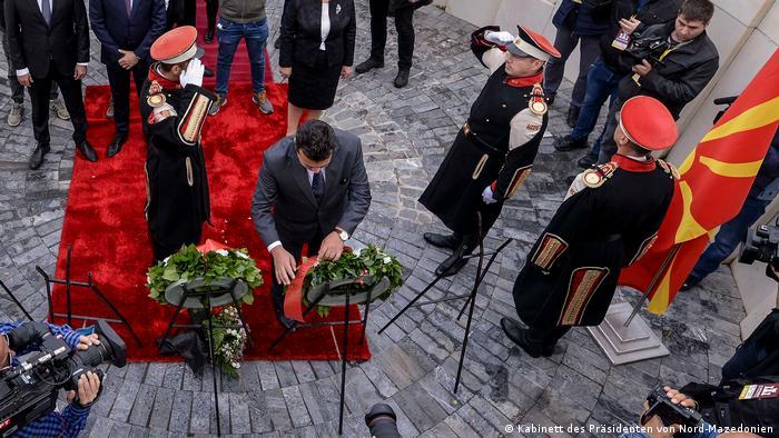 Од свеченоста во Прилеп по повод Денот на народното востание