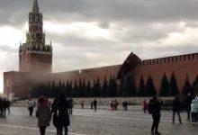 Photo of Видео:Невреме во Москва – урнат дел од ѕидот на Кремљ, затворени сите приоди кон Црвениот плоштад