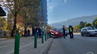 Photo of ФОТО: Нова сообраќајка кај зградата на ЕУ во Скопје